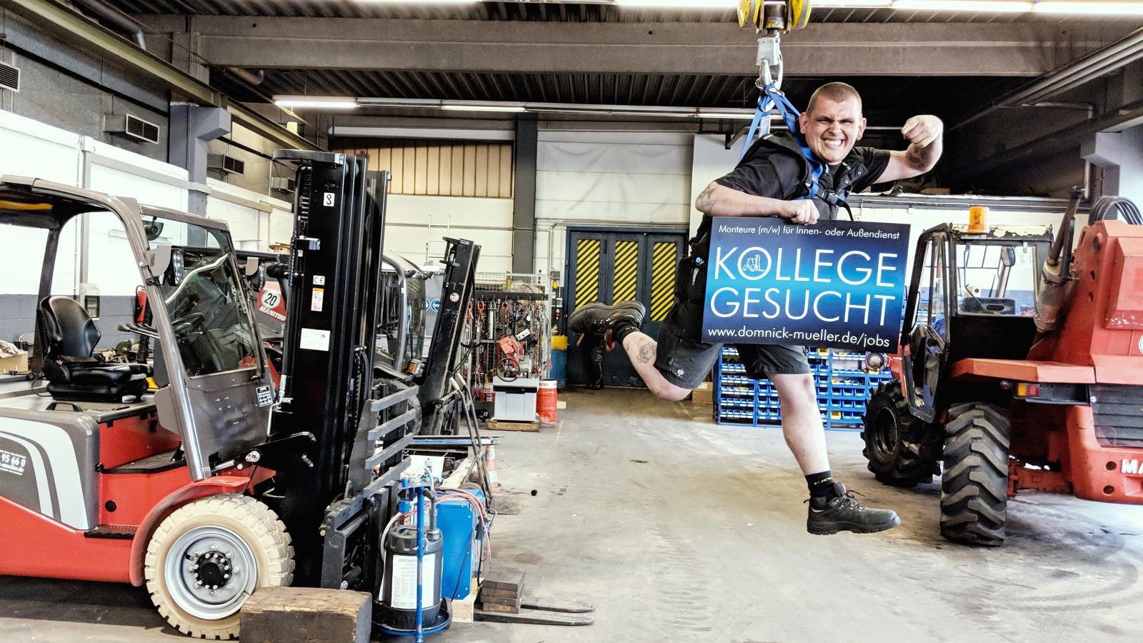 MÄNNERSPIELZEUG Domnick+Müller Techniker gesucht