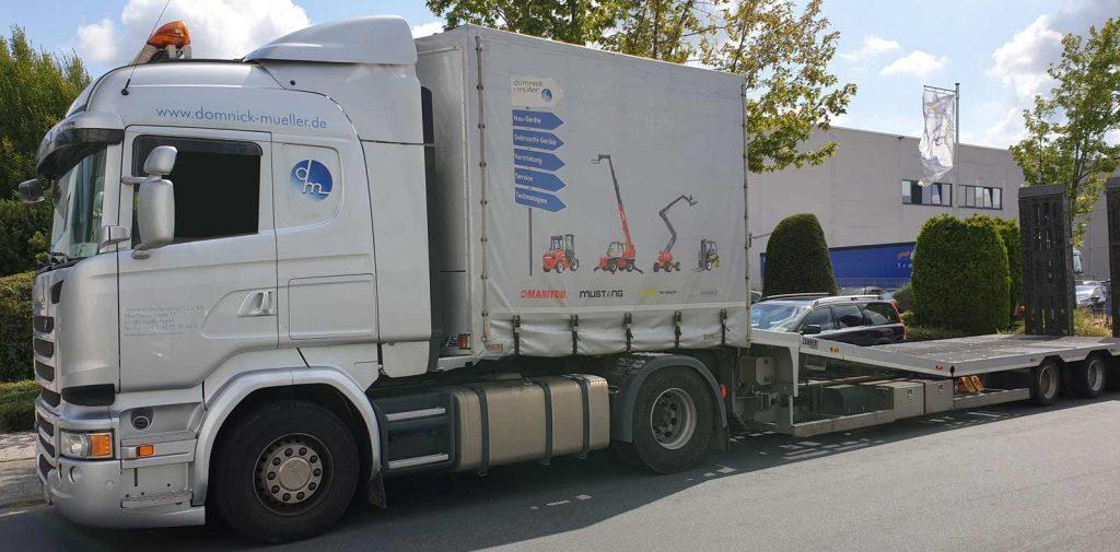 Domnick+Müller Scania Sattelschlepper
